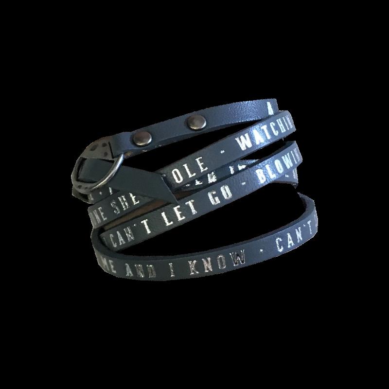 A Thousand Horses Leather Wrap Bracelet