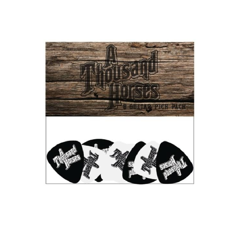 A Thousand Horses Guitar Pick Pack