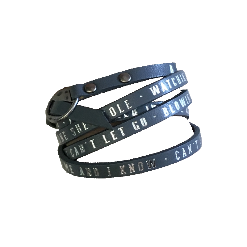 A Thousand Horses Leather Wrap Bracelet