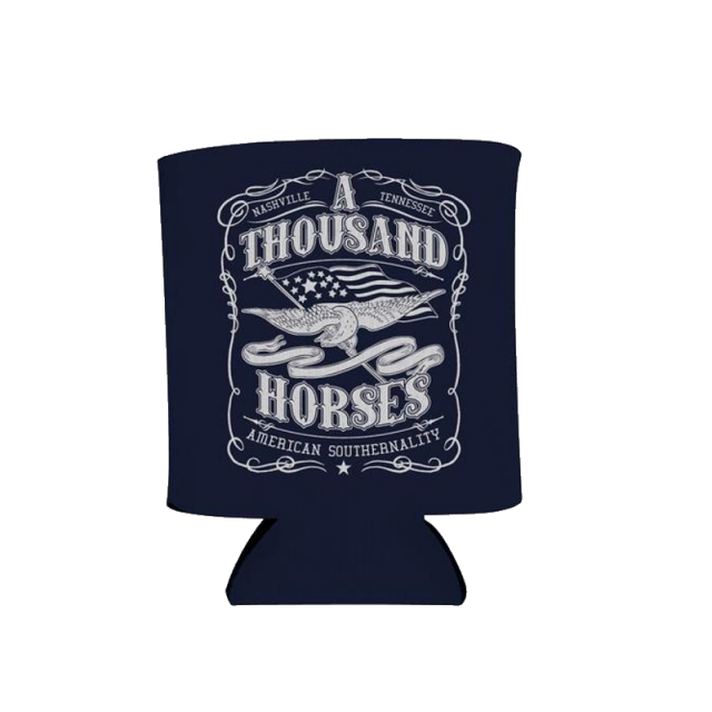 A Thousand Horses Navy Southernality Pocket Coolie